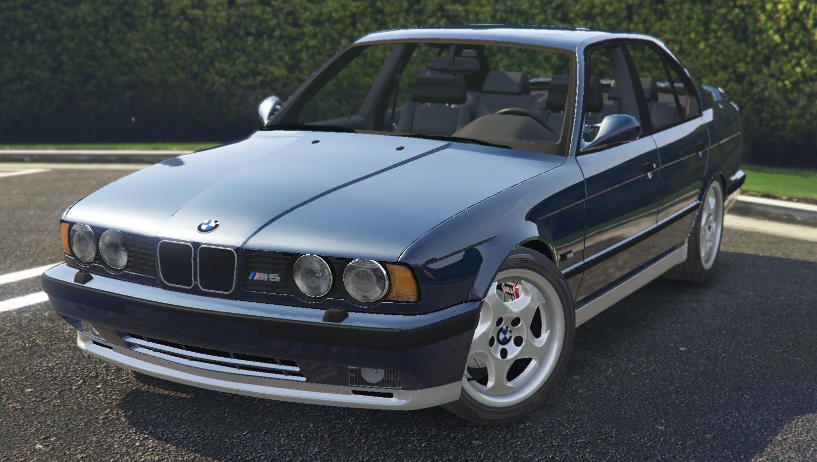 21 Car Wallpaper 1991 Bmw E34 M5 Gta5 Mods Com