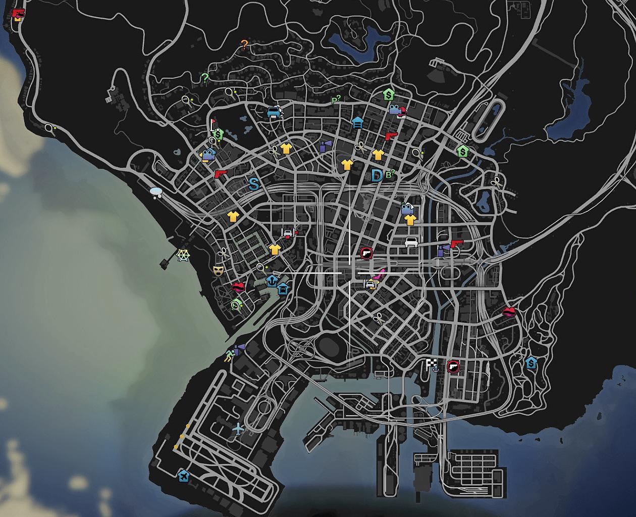gta 5 bordell karte
