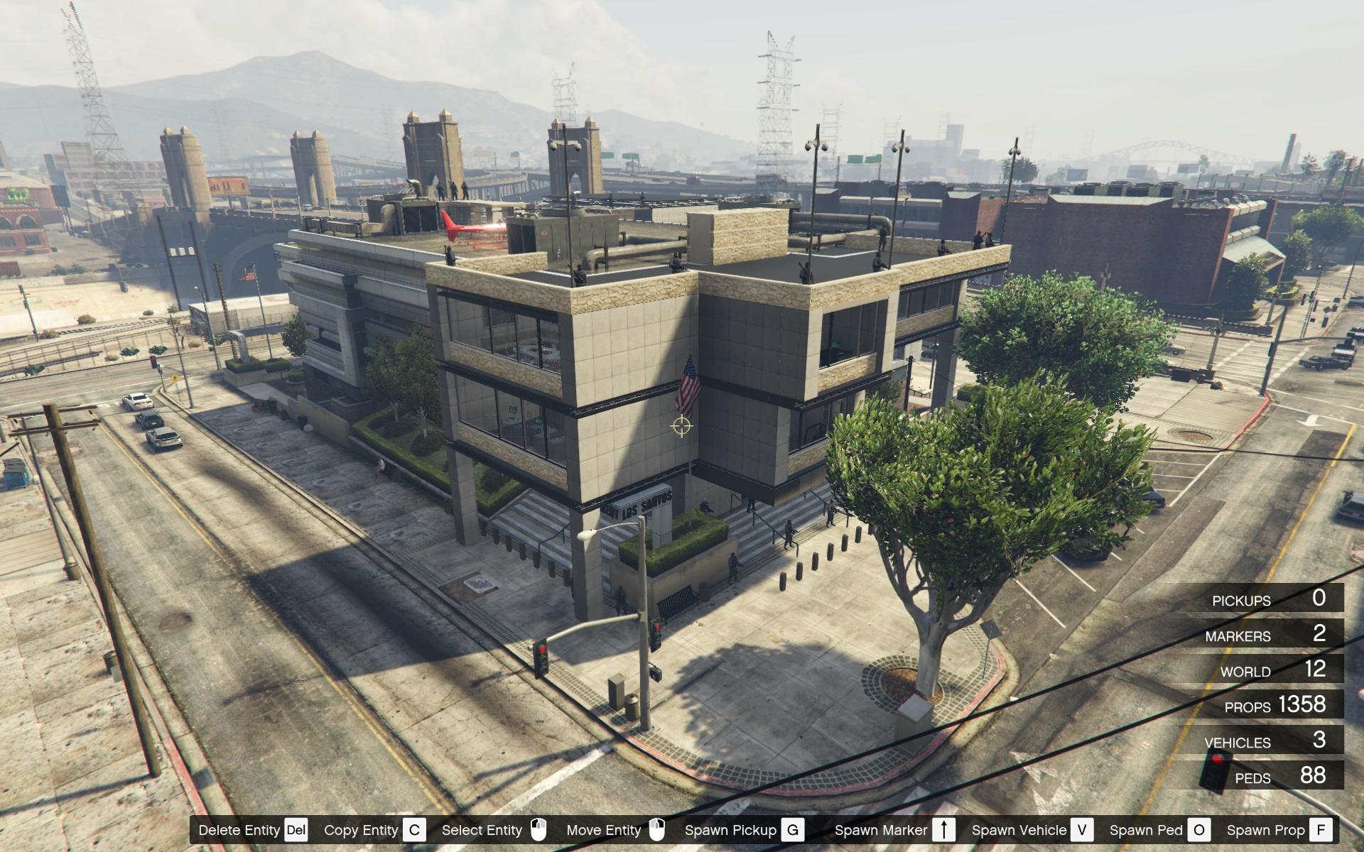 Mission row police station gta 5 location