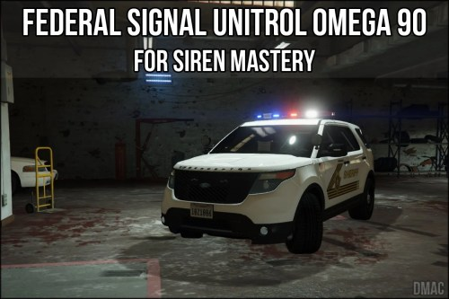 small resolution of federal signal unitrol omega 90 for siren mastery