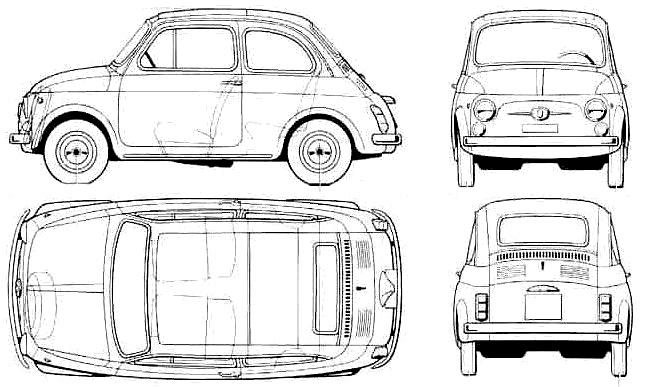 Fiat 500 Abarth: Fiat 500 Abarth Blueprint