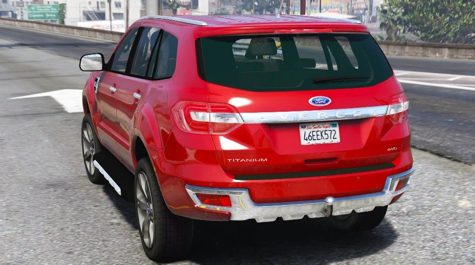 ford everest add on
