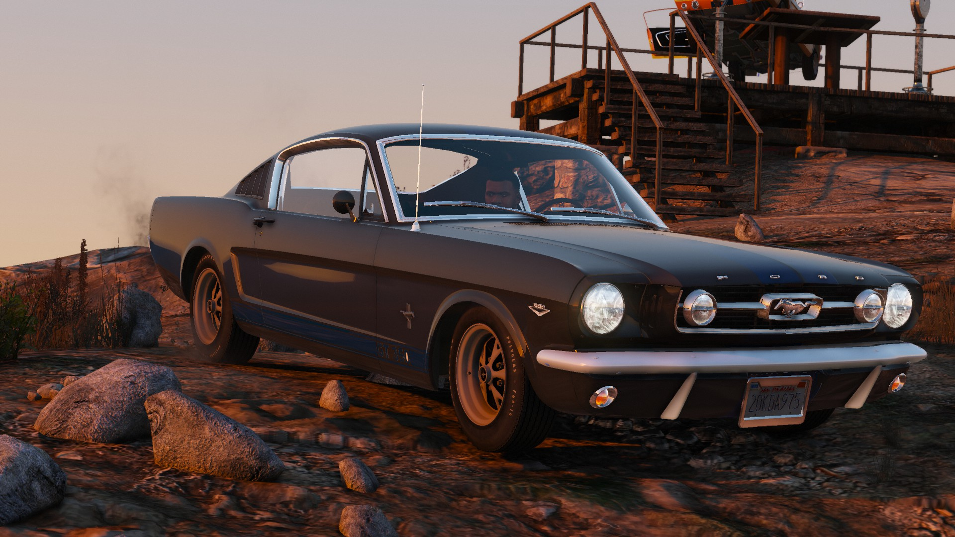 Please see the photos for condition. Ford Mustang Fastback Add On Gta5 Mods Com
