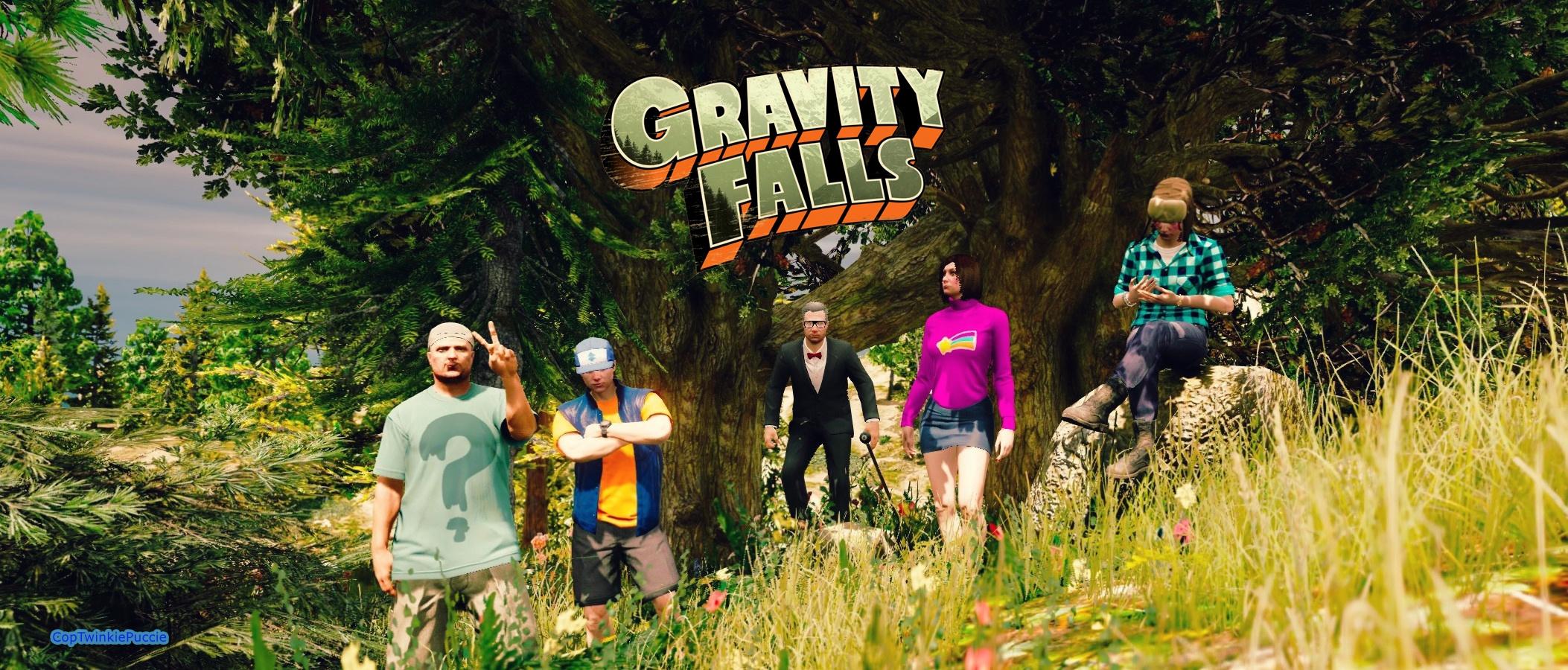Gravity Falls Wallpaper Dipper Gravity Falls Characters Retexture Pack Gta5 Mods Com