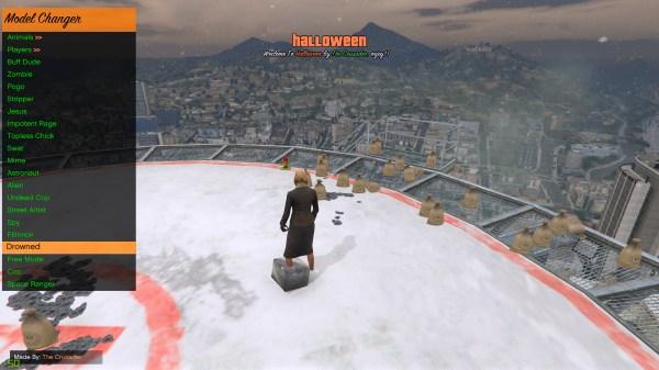 Halloween Mod Menu Open Source GTA5Modscom