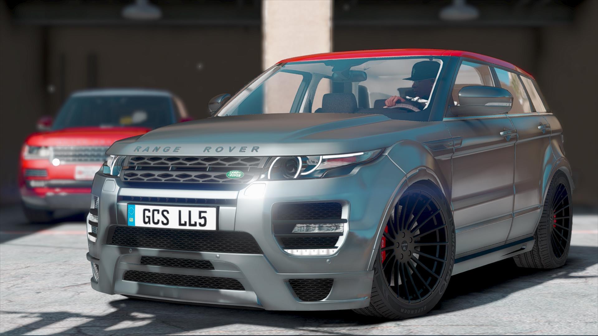 HAMANN Land Rover Range Rover Evoque [Add ] GTA5 Mods