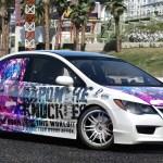 Honda Civic Type R Fd2 Toho Project Gta5 Mods Com