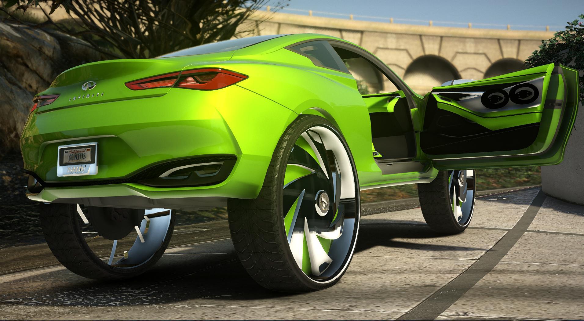 2016 Infiniti Q60 Concept GeniusOfGTA Edition Donk
