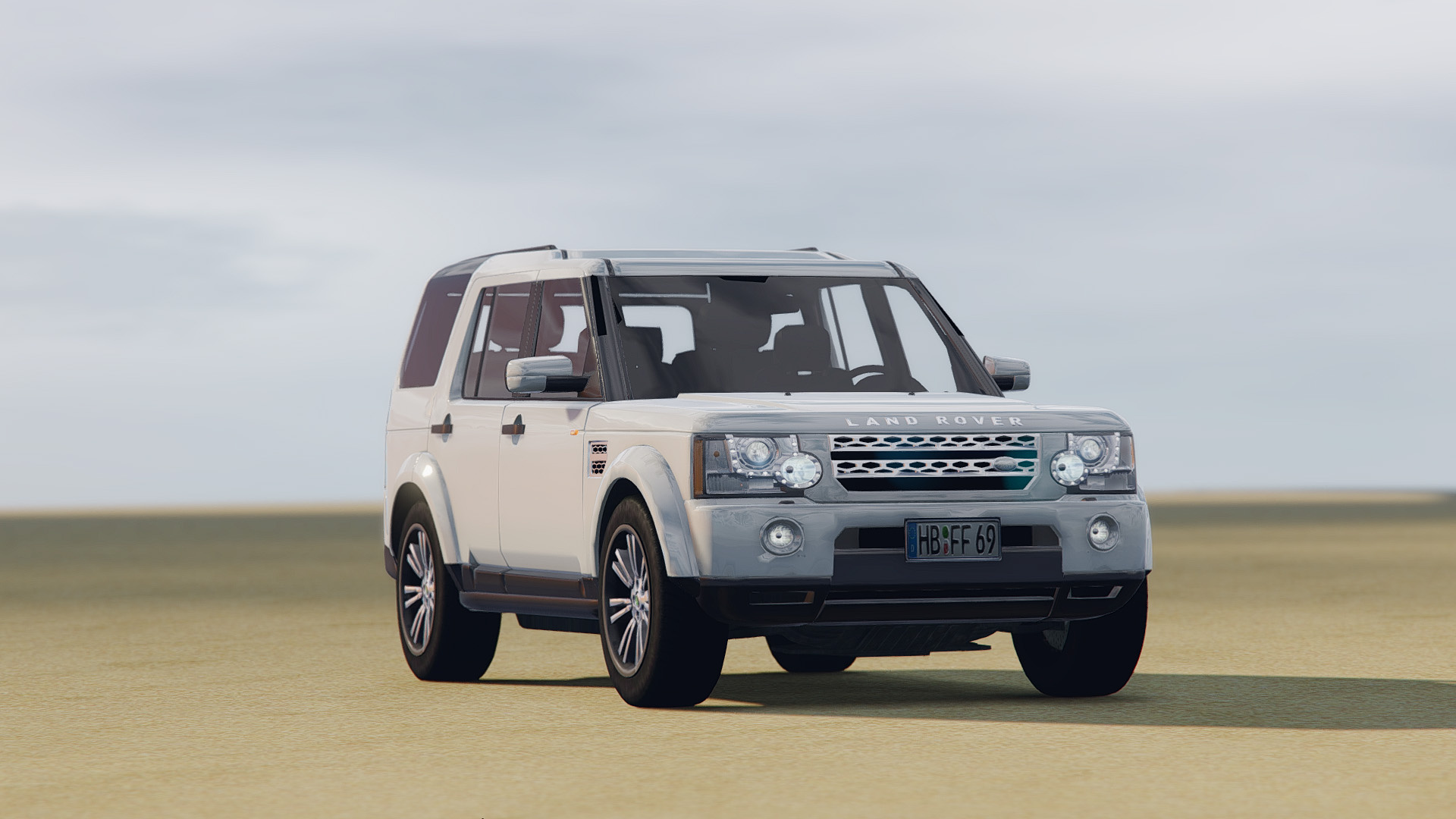 Land Rover Discovery 4 GTA5 Mods