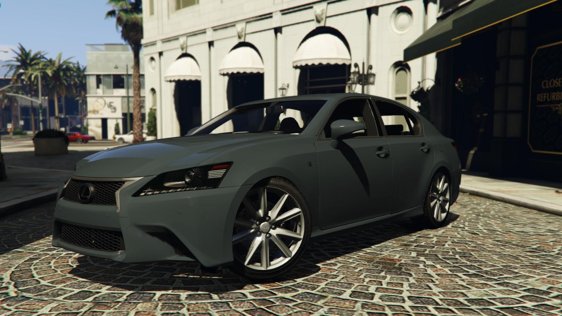 Lexus GS350 F Sport Series IV L10 13 GTA5 Mods