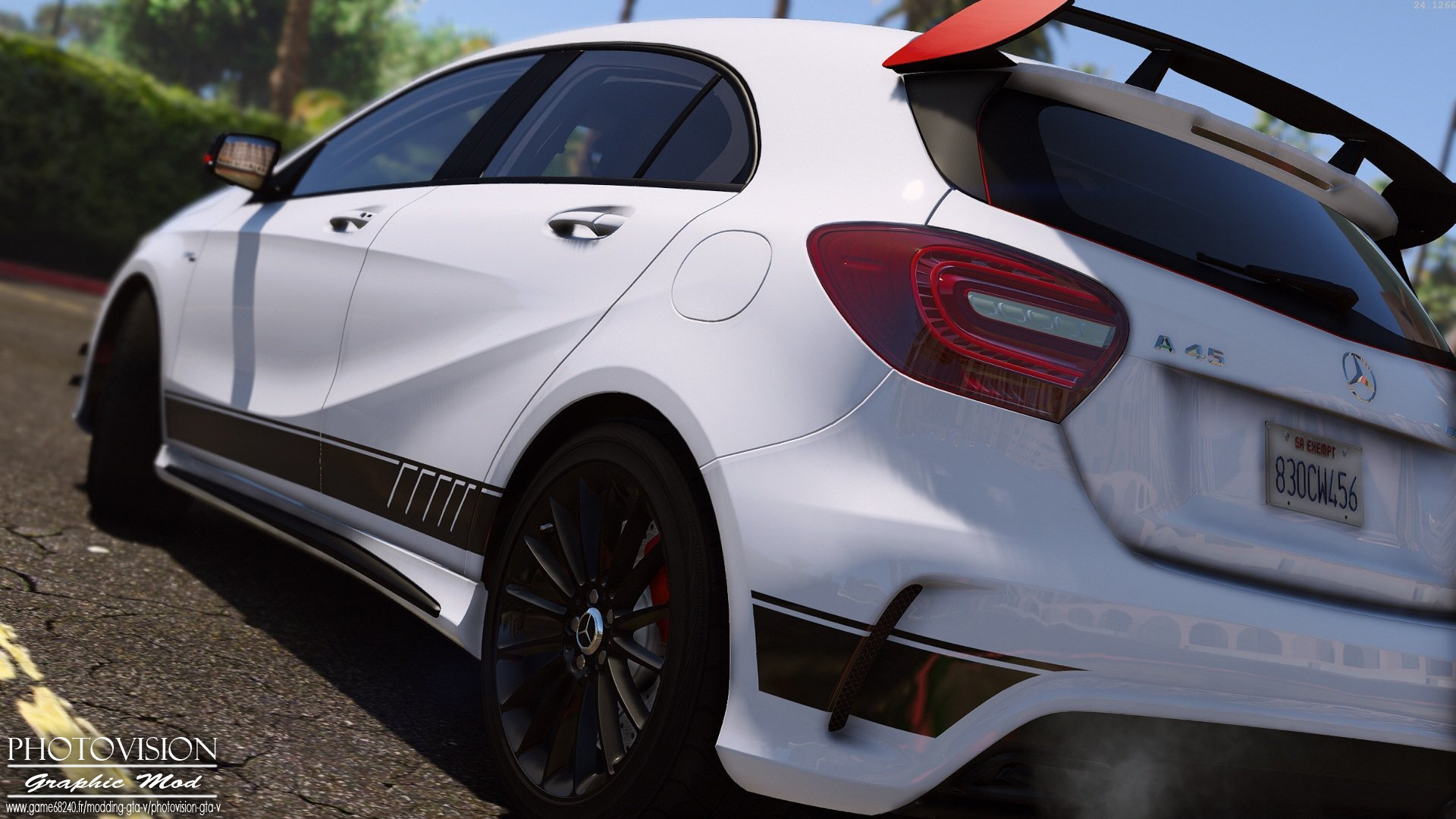 Gta V Car Hd Wallpaper Mercedes Benz Classe A45 Amg Edition 1 Add On Replace