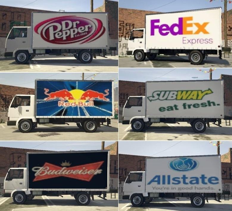 Mule Commercial Truck  Real Brands  Gta5modscom