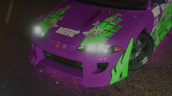 NFS Underground 1 Mitsubishi Eclipse Livery - GTA5-Mods.com