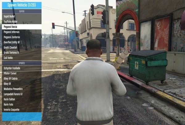 QF Mod Menu GTA5Modscom