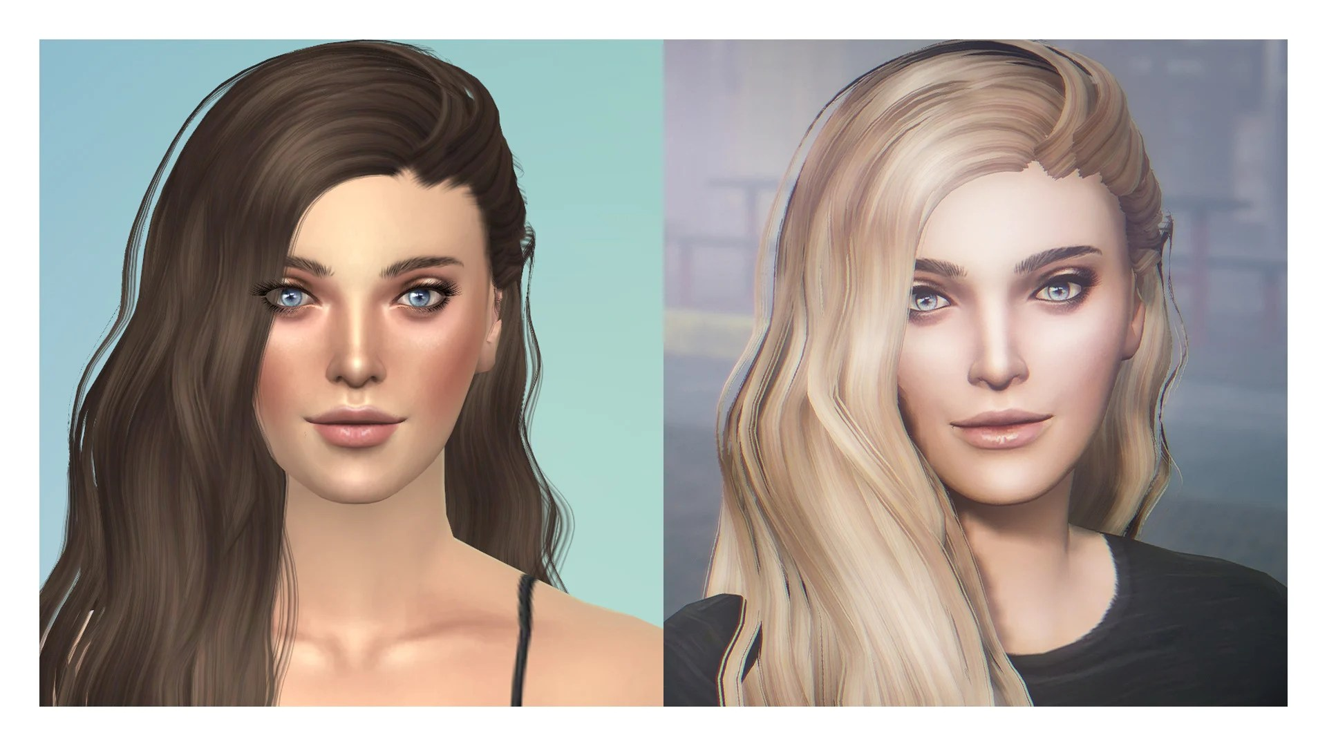 Female Hairstyles Sims 4