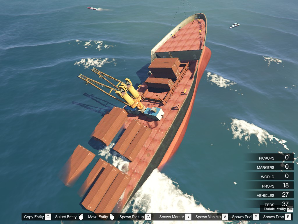 Sinking Ship  GTA5Modscom