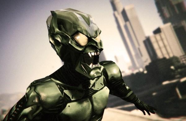 Green Goblin Willem Dafoe Add- Ped