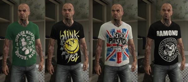 Trevor - Mega Music T-shirt Pack