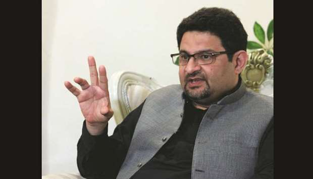 Image result for Pakistan finance ministry chief Miftah Ismail, photos