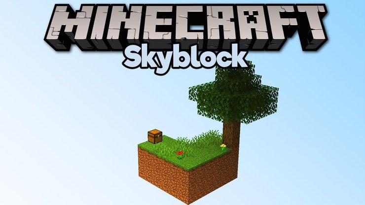 Minecraft Tohumları Skyblock