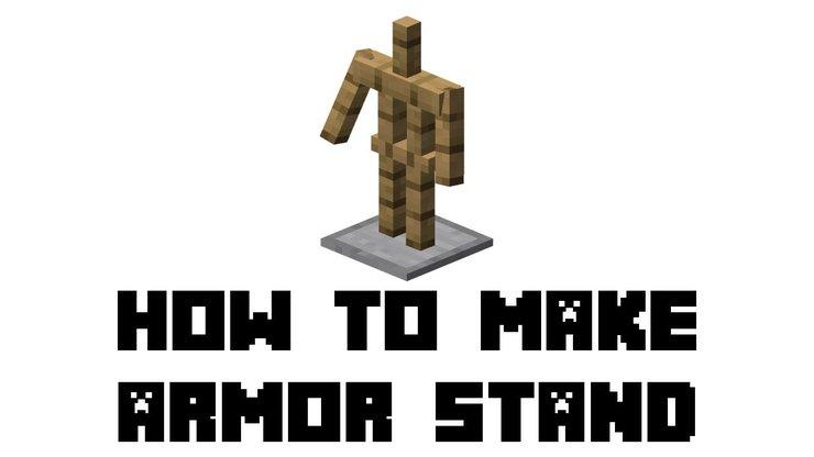 Minecraft Zırh Standı Kapağı