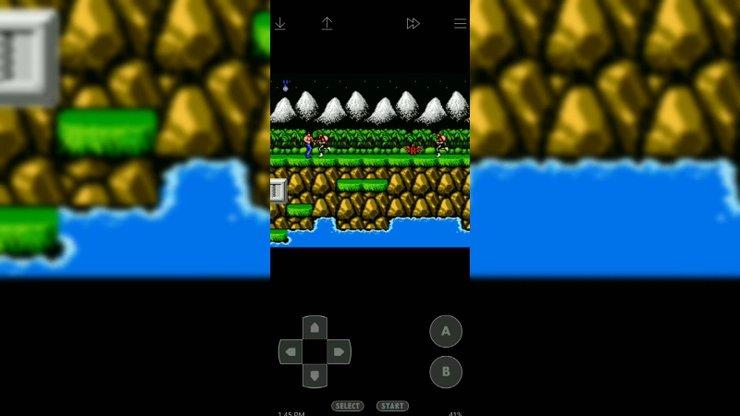 Super Contra Mobil Ekran Görüntüsü İndir