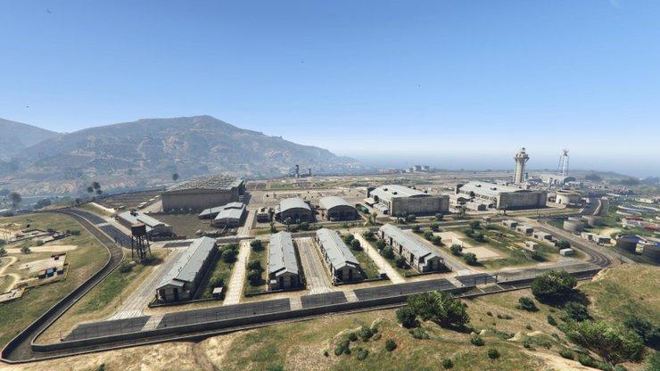 Fort Zancudo Gta V Genel Bakış