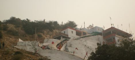 Side View Baba Mohan Ram Temple