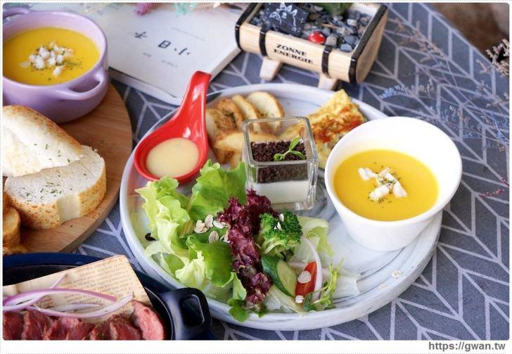 20190115230241 89 - 熱血採訪   晨光手作料理坊,早餐就能吃到巨無霸牛排可頌,平日不限時,點紅茶還可無限續杯!!