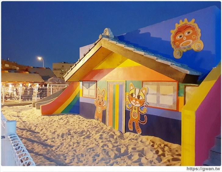 20190224225911 6 - 夜間版彩虹眷村你來過嗎??現在還有新的彩虹溜滑梯和沙坑呦~