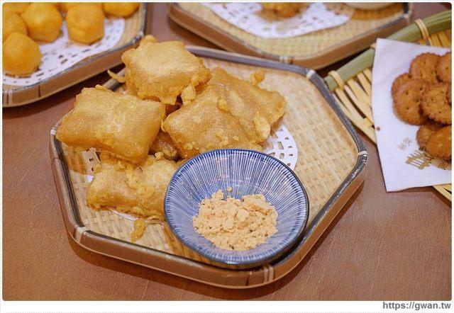 台中美食有春茶館   麵茶炸年糕