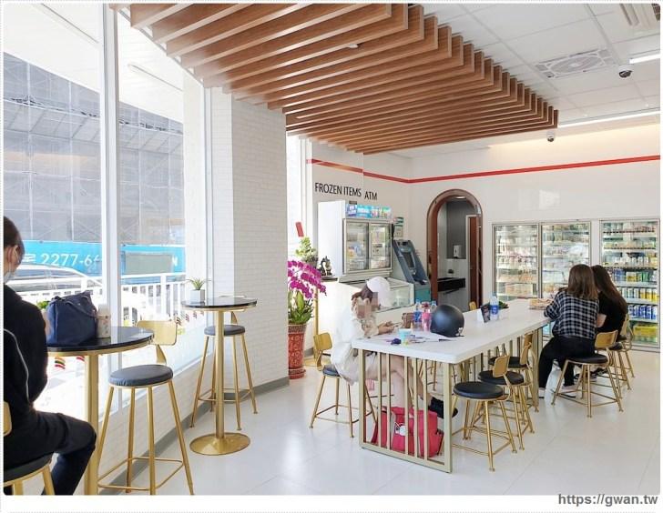 20191018210804 94 - 台中最新7-ELEVEN特色門市,純白簡約美得像咖啡廳的保雅門市