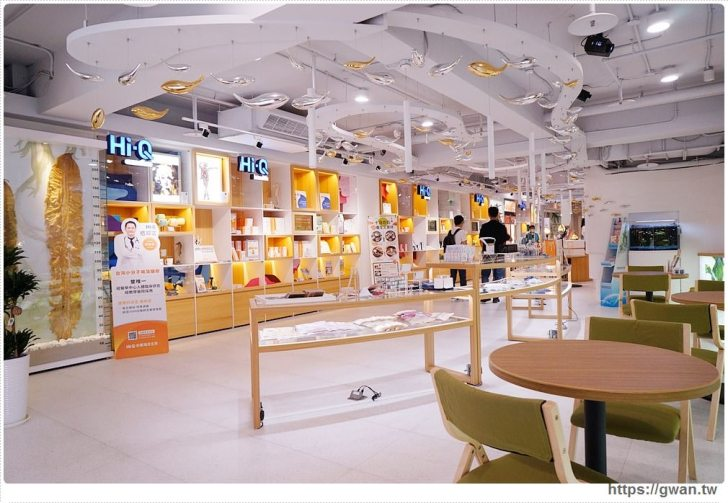 20191020040737 39 - 熱血採訪 台北新開的多元生活館,不用消費也有紅茶咖啡免費喝,尖峰時刻人潮大爆滿的 Hi-Q褐藻生活館