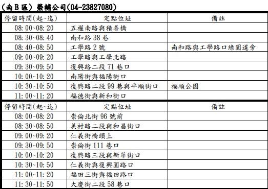 20200110233042 100 - 2020台中春節、國定假日垃圾車清運時間表,大台中地區倒垃圾時間地點整理!