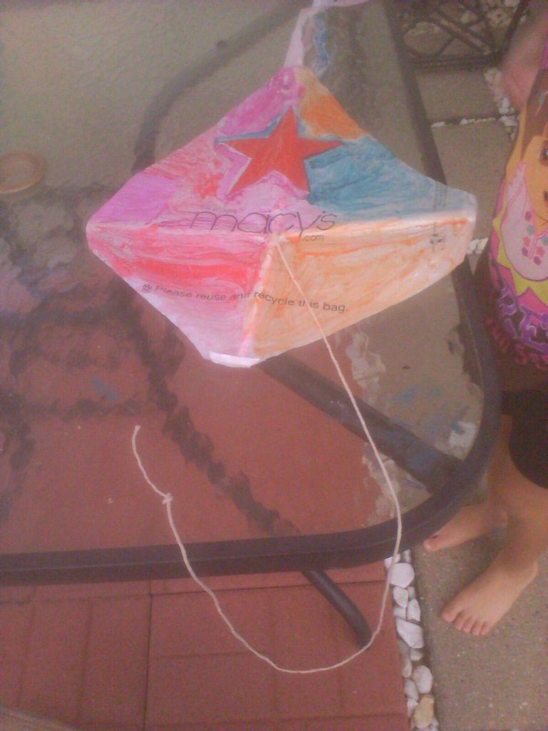 Cara Membuat Layang Layang Kotak : membuat, layang, kotak, Membuat, Kite:, Langkah, (dengan, Gambar)