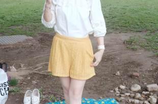 (野餐風穿搭)風和日麗跟著哈比野餐去~來看哈比穿什麼?
