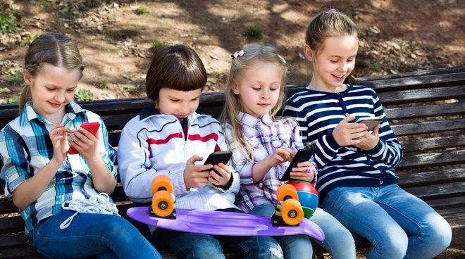 El 40% de los niños menores de 9 años ya tienen Smartphone