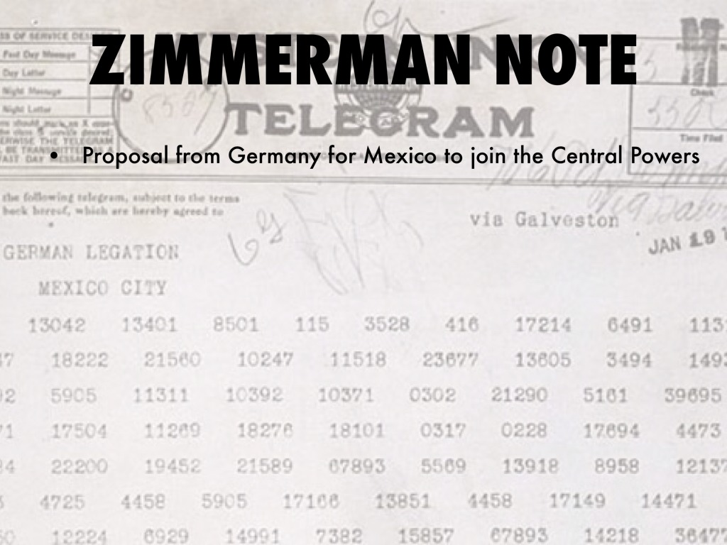 note zimmermann zimmerman telegram abc s of us history by
