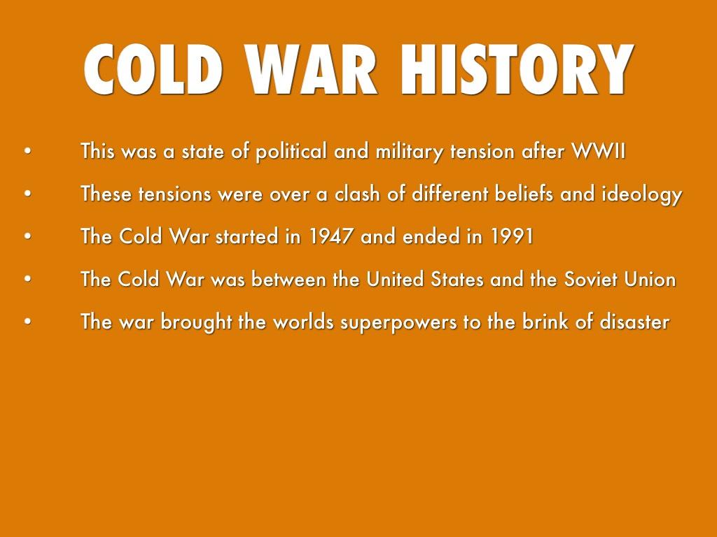 Cold War By Adam Nolan
