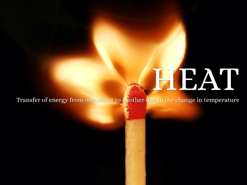hight resolution of heat transfer