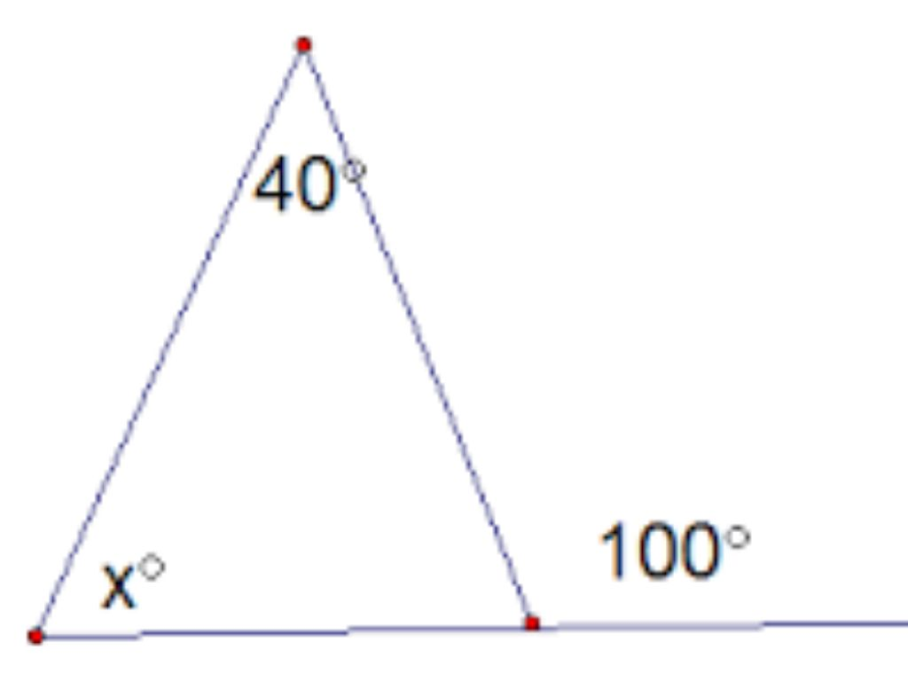 Exterior Angle Theorem Pictures To Pin