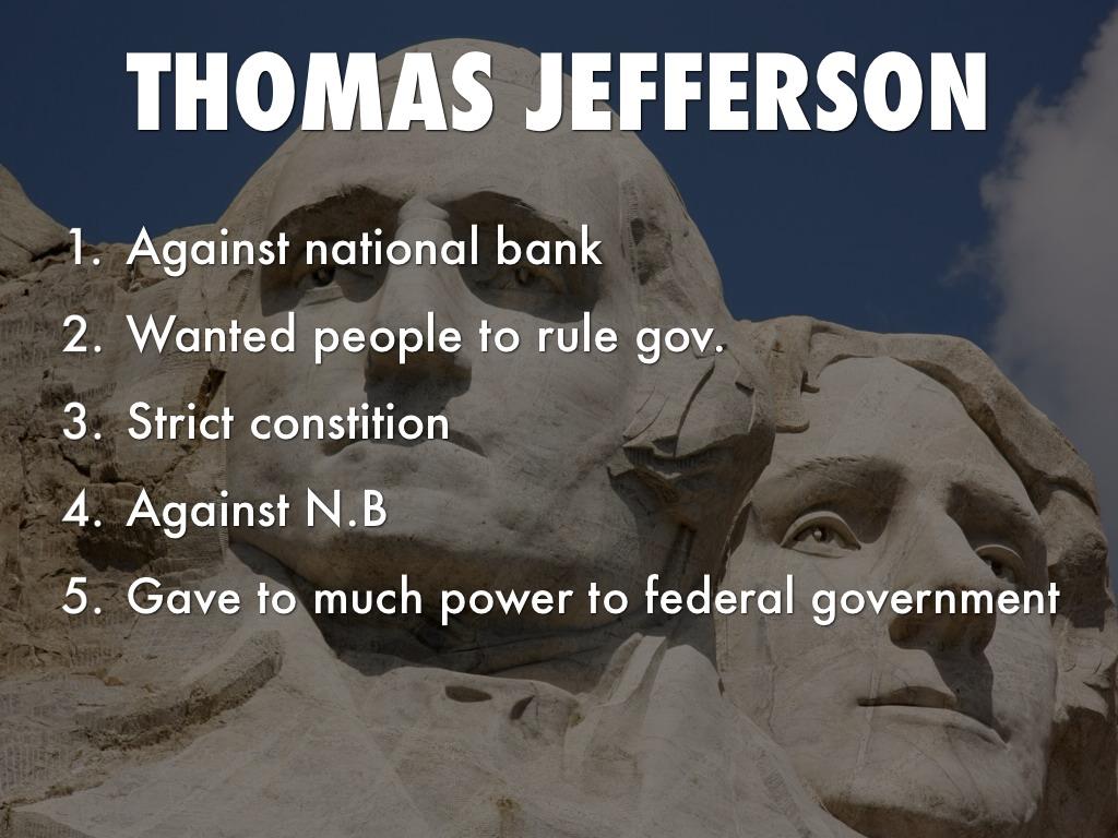 Hamilton Vs Jefferson By Alex Vermillion