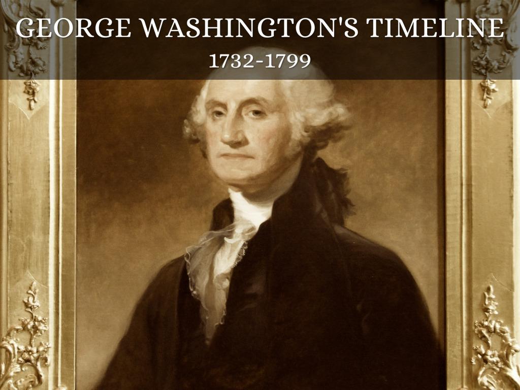 George Washington Timeline By Julia Sobampo
