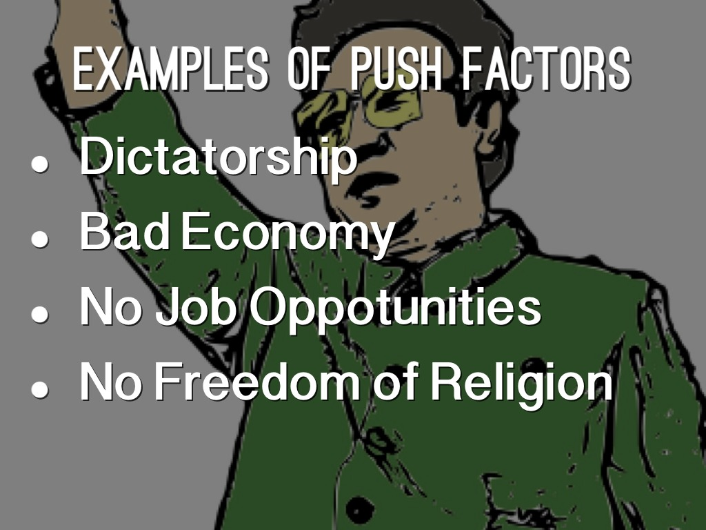 Push And Pull Factors By Jensen Hendricks