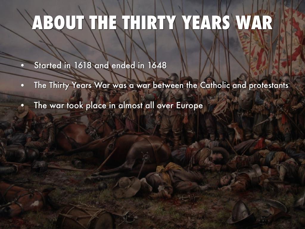 30 Years War Project By Noah Lowe