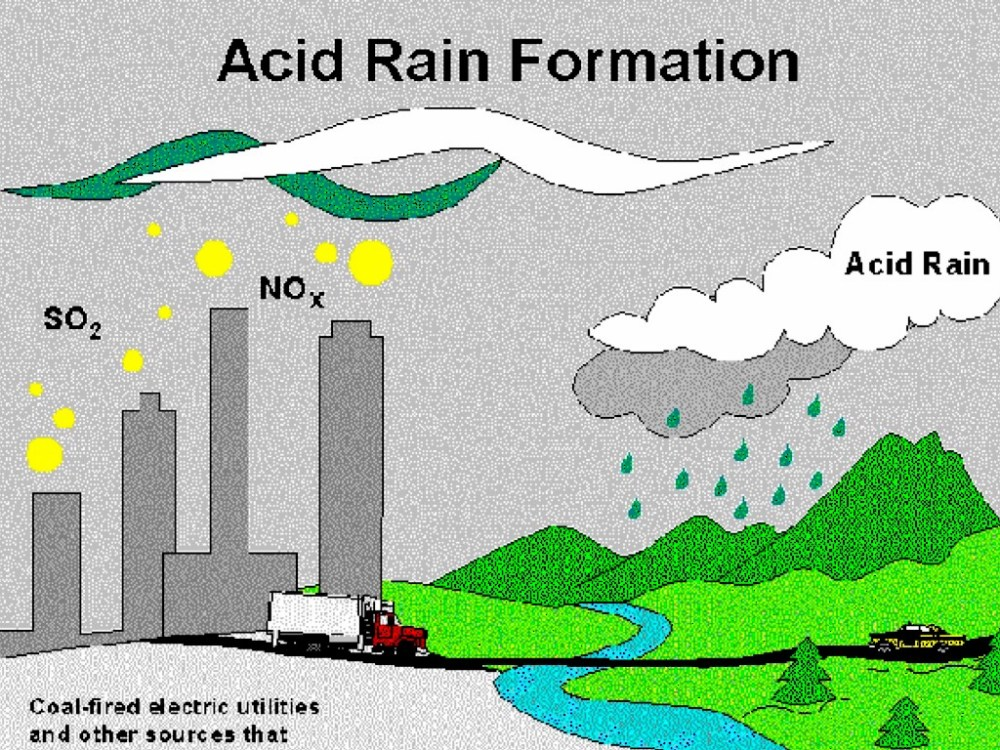medium resolution of the main reason why this happens is because of human activities we release so many different chemicals that create acid rain