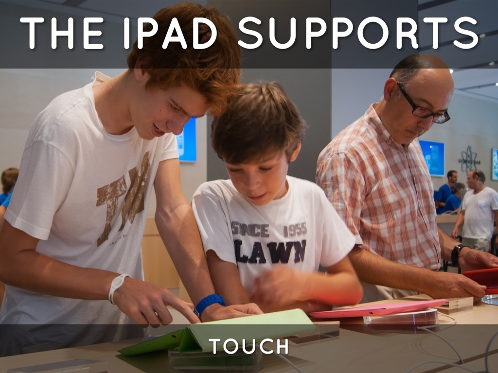 Using The Ipad In Elementary And Secondary Education