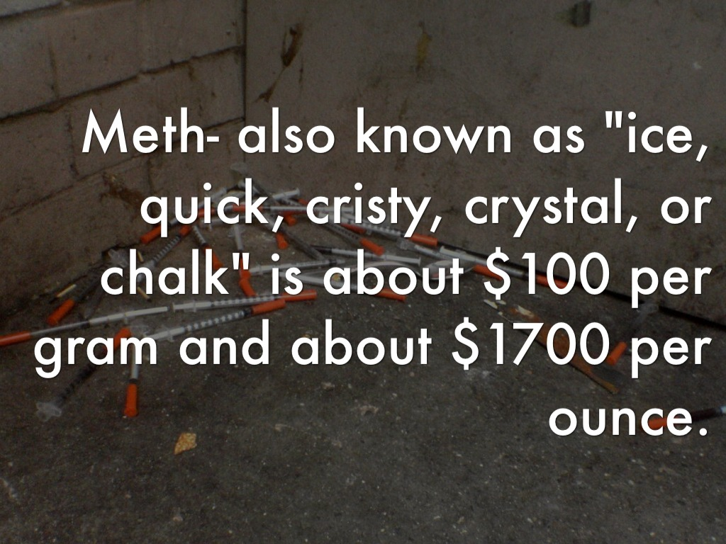 Methamphetamine Ice By Tanner Freeman
