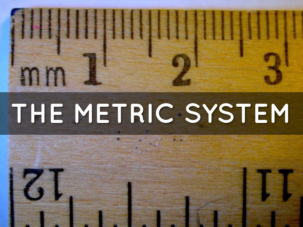 The Metric System By Cooopera