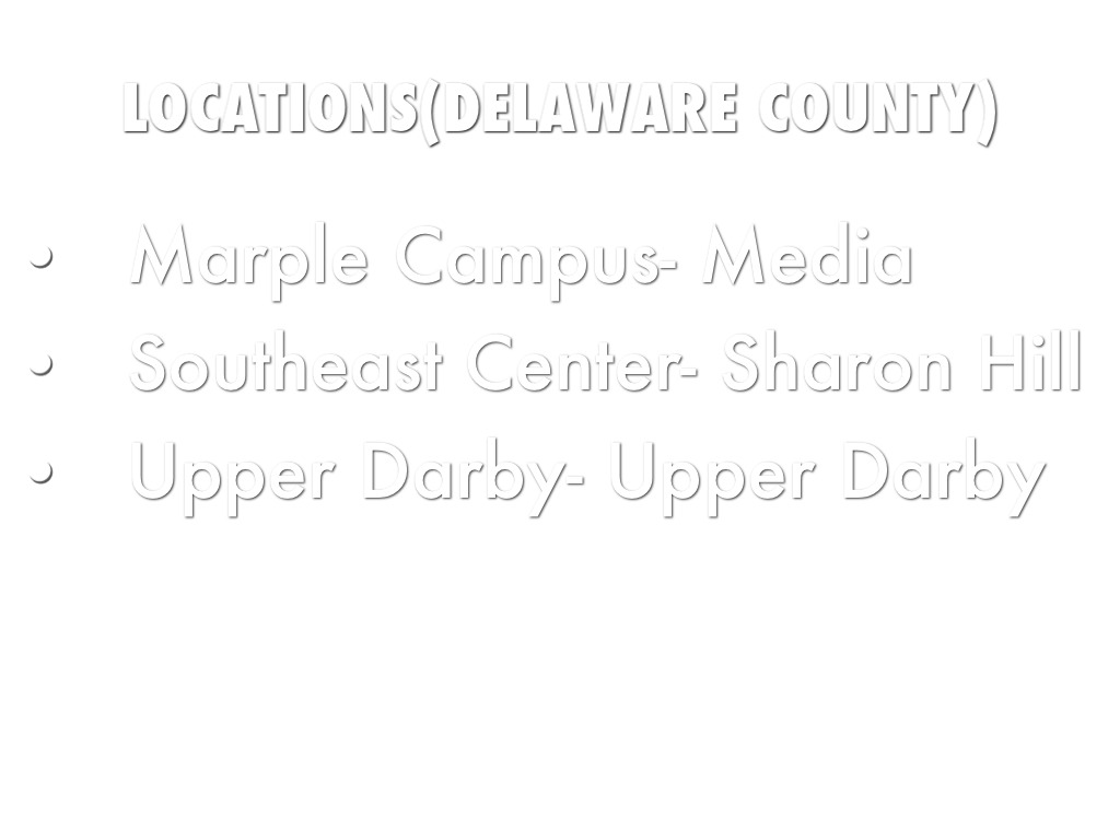 Delaware County Community College by Chelsi Shaw